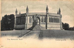 India The Memorial Well Cawnpore Postcard