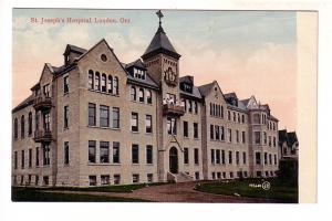 St Joseph Hospital, Nurses on Balcony, London, Ontario