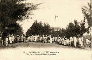 CPA FORT-DAUPHIN Fete du 14 Juillet 1903 MADAGASCAR (709655)