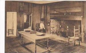 Connecticut Guilford Ancient Hall or Kitchen Hyland House Built 1660 1720 Alb...