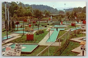 Scranton-Allegheny PA~$3232 to $9.900 Miniature Golf Course~Walk on Cement~1964