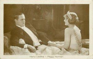 Actors Harry Liedtke Peggy Norman ross-verlag postcard