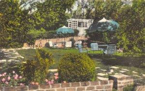 LP78 Luray Virginia Postcard Mimslyn  Hotel Hand Colored Albertype