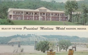 MADISON , Indiana , 50-60s ; Relax by the River, President Madison Motel