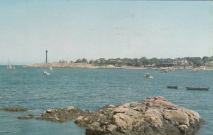 MARBLEHEAD NECK , Massachusetts ,1957 ; Point LIGHTHOUSE