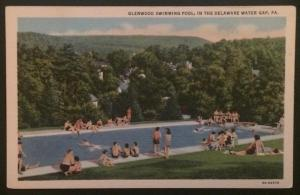 Glenwood Swimming Pool Delaware Water Gap PA A.A.&L.M. Hauser 6A-H2270