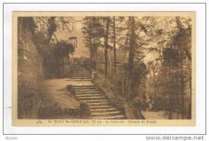 MONT Ste-ODILE - Le Couvent - Chemin de Ronde 1910-30s