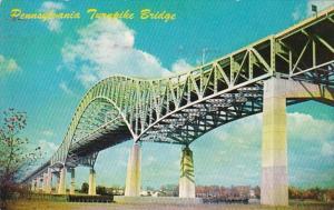 Pennsylvania Turnpike Delaware River Turnpike Bridge 1958