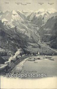 Nordseite Swizerland, Schweiz, Svizzera, Suisse Gottharobahn Nordseite Gottha...