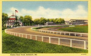MD - Baltimore. Pimlico Race Track