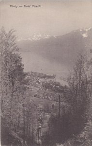 VEVEY, Switzerland, 1900-1910's; Mont Pelerin