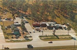 Kissimmee Florida~The A Train Village~Restaurant in Passenger Cars~1965 Postcard