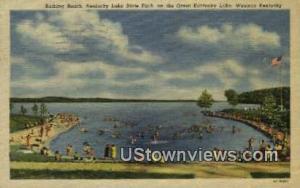 Kentucky Lake State Park Western Kentucky KY 1953