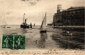 CPA MARSEILLE Remorqueux sortant du Port (339585)