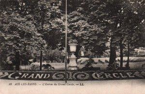 l'Entrée du Grand Cercle,Aix-Les-Bains,France BIN