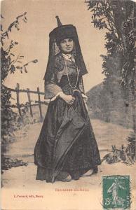 us256  bressane ancienne folklore types costume france