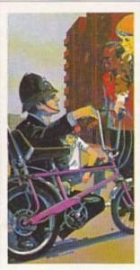 Brook Bond Tea Vintage Trade Card Police File 1977 No 7 Village Bobby