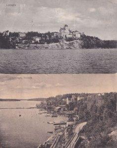 Lidingon Lidingon Lidingo Stockholm Sweden 2x Postcard