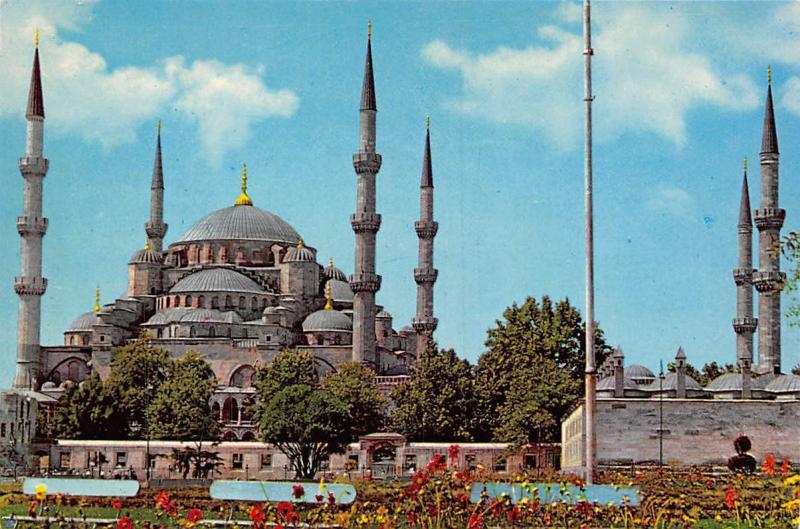 Turkey Istanbul, The Blue Mosque, Sultanahmet Camii