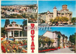 Modern Postcard Royat P D Stataion of genearle View Heart Church