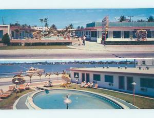 Unused Pre-1980 MIRADOR MOTEL Hollywood Beach Florida FL n8921