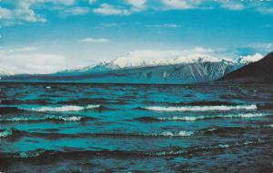 Waterfront View, Waves Near the Shore, Kluane Lake, Famous for Lunker Trout, ...