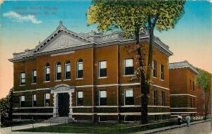 Manchester New Hampshire~Hillsborough County~Court House~Ladies~1915 Postcard