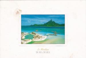 Bora Bora Hotel Meridien Aerial View