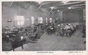 New Jersey Fort Dix Recreation Hall