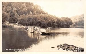 Cumberland Falls State Park Kentucky~River~Car Ferry Thrill For Me~1950s RPPC
