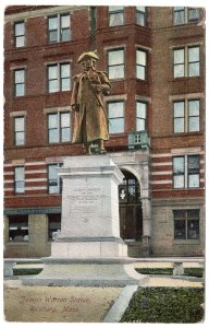 Roxbury, Mass, Joseph Warren Statue