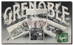 Old Postcard Grenoble Remembrance