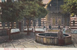 DAMAS. , Syria , 00-10s ; Maison Lisbona , La cour