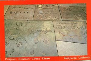 Footprints, Grauman's Chinese Theatre, Hollywood, Califor...