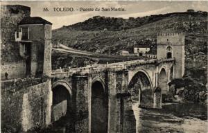CPA Toledo Puente de San Martin SPAIN (743844)