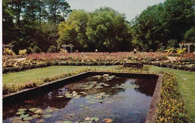 Alabama Mobile The Lily Pool Bellingrath Gardens