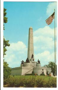 The Lincoln Tomb, Springfield, Illinois, unused Postcard
