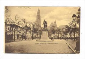 ANVERS. Place Verte, Belgium, 00-10s