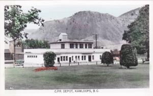 RP, C.P.R. Depot, Kamloops, British Columbia, Canada, PU-1952