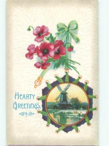 Divided-Back GREAT SCENE Greeting Postcard AA7113