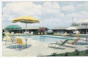 Swimming Pool , Cumberland Motel , U.S. 41 , MANCHESTER , Tennessee, 50-60s