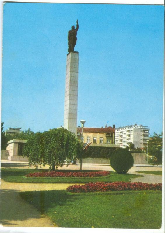Bulgaria, Bourgas, Soviet Army Monument , unused Postcard