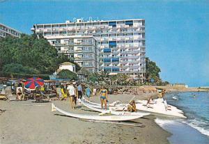 Spain Marbella Costa Del Sol Hotel Skol desde la playa