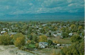 View of Salina Utah UT Chrome