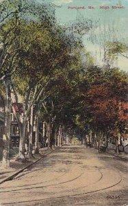 Maine Portland High Street 1915
