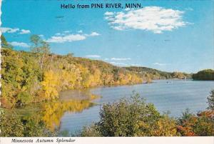 Minnesota Autumn Splendor Hello From Pine River Minnesota 1981