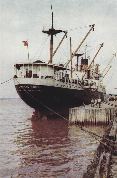 High Tide,  Windsor,  Nova Scotia,  Canada,   40-60s