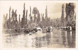 RP,View of Xochimilco, Mexico,30-40s