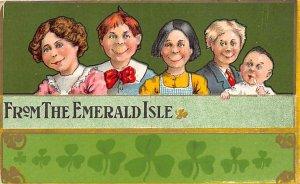 John Winsch St. Patrick's Day Postcard 1911