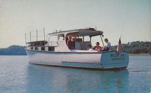 Charter Fishing Boat The Billie Jane , NASHVILLE , Tennessee , 50-60s